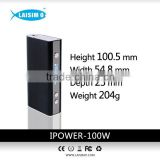 laisimo 2015 newest ipower 100w TC vape wholesale with temp control TC-MOD in stock soon