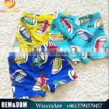 2015 Children Swimming Trunks Baby Boy Cartoon Boxer Trunks