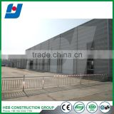 Steel Fabricated House Application poultry farm design in broiler