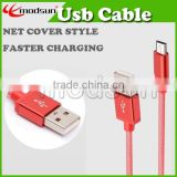 Colorful universal mobile phone micro USB data transfer cable strong wire 5PIN cable for Android