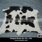 Factory wholesale Cow Hides Pelt with Hair on for floor carpet