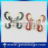 New design hot sellling products for 2016 bulk buy from china wholesale brooch lot butterfly brooch B0111