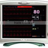 7''LCD portable digital blood pressure patient monitor device--elderly monitoring devices