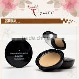 3 colors face whitening foundation stay matte but not flat powder foundation for beauty