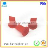 fire resistant red silicone valve for plastic bottle