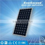 EverExceed 320w 156*156 Monocrystalline Solar Panel made of Grade A solar cell for customized solar pump system