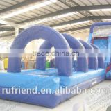 Outdoor inflatable water inflatable water slides for adults obstacles profitable commercial inflatable products                                                                         Quality Choice