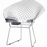 metal wire chair / replica Bertoia diamond chair Y147