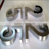 3d stainless steel letter sign door open number signs / door open signs / stainless steel letters