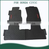 2016 Hot Sale Non Slip Custom Fit Car Mat for Honda CIVIC 2010