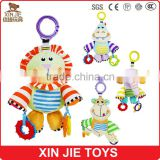 CE standard good quality baby teethers toy with hanging ring