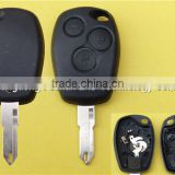 Top quality Remote Car Key Fob Case for Renault Clio 3 Button 206 Blade Key Blank Shell without Logo