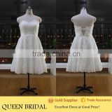 Real Sample Sweetheart Short Lace Plus Size Wedding Dress Patterns