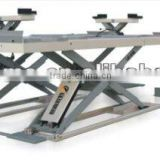 CE car alignment scissor lift, four hydraulic cylinder no need pit installment                                                                         Quality Choice