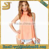 woman bodycon fitted fashion blank t-shirts made in china,wholesale customized blank t shirts