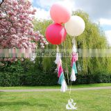 2016 Hot Sale 36 Inch Round Latex Balloons For Wedding Decoration                                                                         Quality Choice