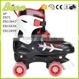 wholesale adjustable PU wheel roller skate quad                                                                         Quality Choice