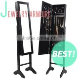 Floor Standing Mirror Jewellery Armoire