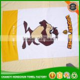 towels bath set luxury hotel animal pattern round beach towels