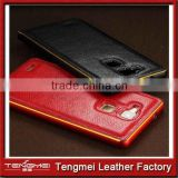 pu Leather Vertical case cover for mobile phone Huawei Ascend Mate