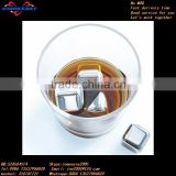 for ebay shop top Selling 6 pcs wine stainless steel ice cube