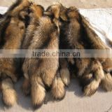 2016/2017 New Factory Prices Tanned Raccoon Dog Fur Skin Pelts