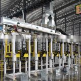 8 stations cabinet foaming line