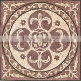 water-proof floor tiles standard size mosaic medallion