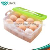 High quality Plastic Chicken Egg Container,portable egg boxs