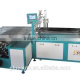 T8 glass tube glue dispensing machine,automatic loading, dispensing,manual PCB placing