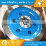 @@42CrMo,65Mn,50SiMn,ZG55 Meterial Crane Wheel Assembly for Bridge Crane Wheel, Top Quality Bridge Crane Wheel Price