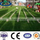 colored artificial rainbow grass turf fence for kinds playground