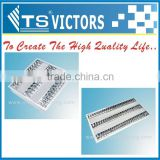 T5 LED grille light recessed grille lamp 600x600mm louver fitting T5 3x14w 3x9w