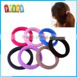 Wholesale multicolor seamless hair ring hair rope
