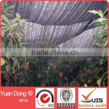HDPE Raschel Knitted Greenhouse Shade Netting With UV protection