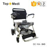 Rehabilitation Therapy Supplies Lift TEW007B Aluminum Portable Foldable Light Electric Wheelchair