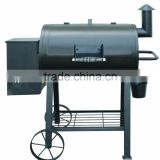 Hot Selling Barrel Wood Pellet Charcoal Smoker BBQ Grill for Backyard
