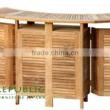 Folding Bar Table - Cheap Price Teak Wood Furniture Indonesia