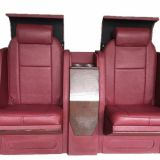 Electric folding bar chair for luxury car