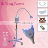Profeesional Dental Use Blue Cooling LED Lights Teeth Whitening Machine with Aluminium Alloy Case