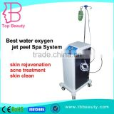 Water Facial Machine Best Aqua Massage Water Oxygen Jet Anti-aging Peel Facial Deeply Clean Skin Renewal Machine