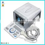 CE Medical Device Portable Hospital Clinic B Mode Ultrasound Medical Diagnose Machine With Probe Transducer
