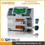 Factory price Double Channel Syringe Pump with Alarm SP-50B2 Automatically calibration injection pump