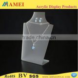 customized acrylic jewelry spring hinges/POP acrylic jewelry spring hinges