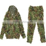 3D Tactical Military Hunting Bird watching Sniper Ghillie Suit Leaf Camouflage Set Clothes by UniqueBella