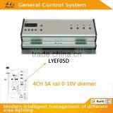 AC Power rail 4CH 5A high quality dmx512 light controller