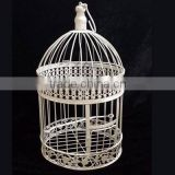new design modern metal bird cage candle holder