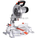 255mm Long Life Electric Power Aluminum Wood Cutting Machine Tools Induction Motor Compound Miter Saw