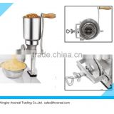 Nut Coffee Burr Grinder Mill Hand Crank Operated Grinding Machine Wheat Grain