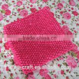Alibaba Wholesale 9inch crochet top /crochet tube top strentch top baby headband wholesale